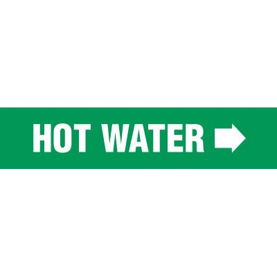 Hot Water Pipe Markers