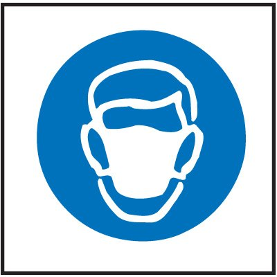 Dust Mask Right-To-Know Labels