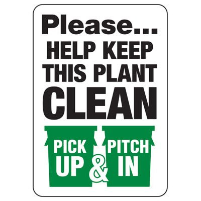 Pick Up Pitch In Sign