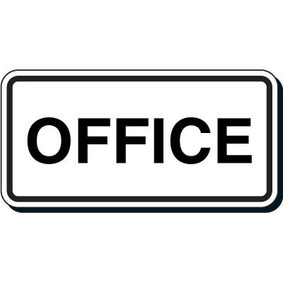 Shipping and Receiving Signs - Office