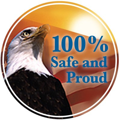 Safety Hard Hat Decals - Safe And Proud