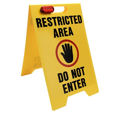 Restricted Area Floor Stand