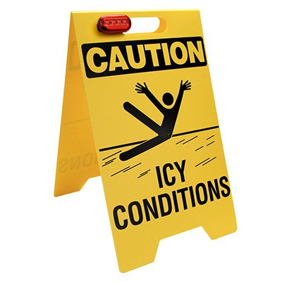 Icy Conditions Floor Stand