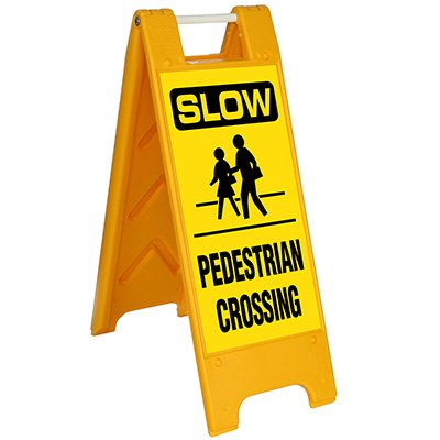 Slow Pedestrian Crossing Barricade