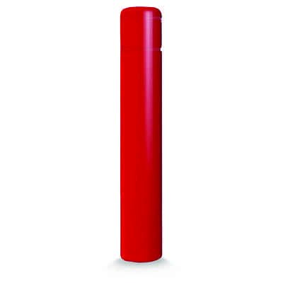 """Post Guard CL1385P64NT Red Bollard Cover 5"""" x 64"""" No Tape"""