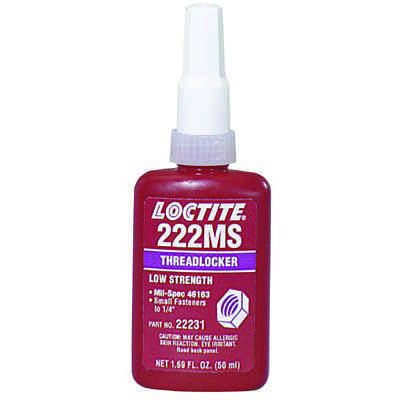 Loctite - 222MS™ Threadlocker, Low Strength/Small Screw  22221