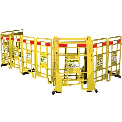 EasyProtect™ Folding Barricade - Caution Trip Hazard