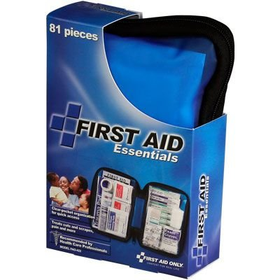 All Purpose First Aid Kit, Softsided, 81 pc - Medium First Aid Only FAO-422