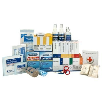 ANSI 100-Person Class A+ First Aid Kit With Meds