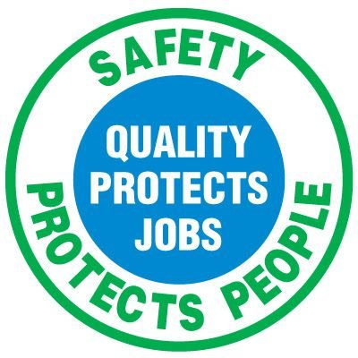 Floor Safety Signs - Safety Protects People
