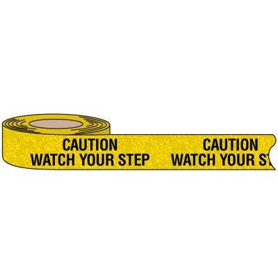 Caution Watch Step Anti-Slip Tape Nadco ASV-2CWS