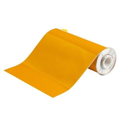 BBP®85 Series Label: Polyimide, Yellow, 10 in W x 33 ft L