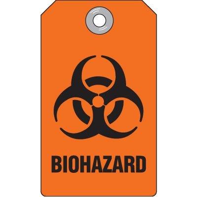 Biohazard Plastic Tag