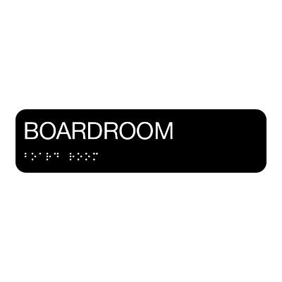Boardroom - Standard Worded Braille Signs