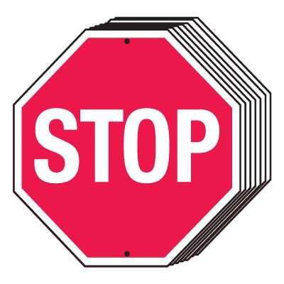 Bulk Stop Signs
