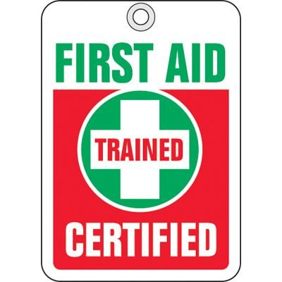 First Aid ID Tags