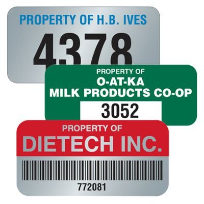 Custom Polyester Roll Labels