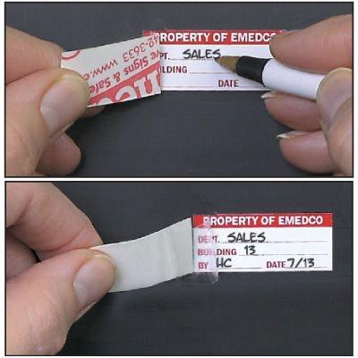 Custom Self-Laminating Label