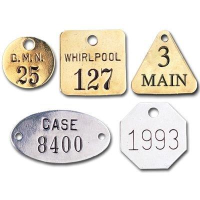 Custom Stamped Metal Tags
