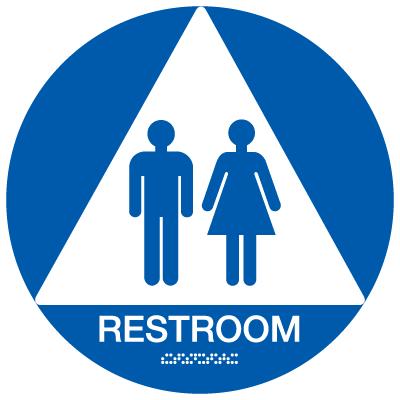 California Restroom Signs