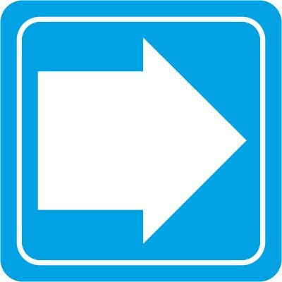Directional Arrow Decor Signs