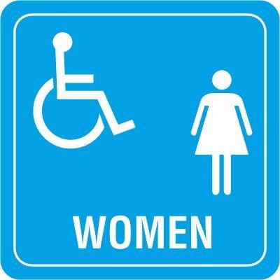 Restroom Decor Signs