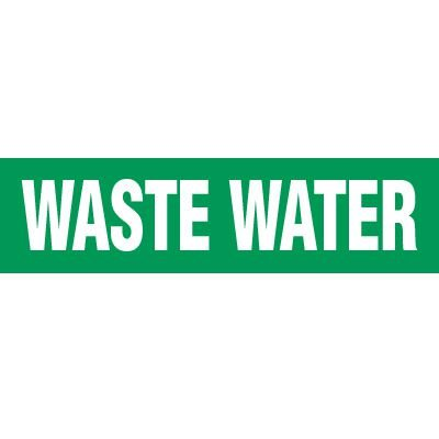 Water Waste Pipe Markers