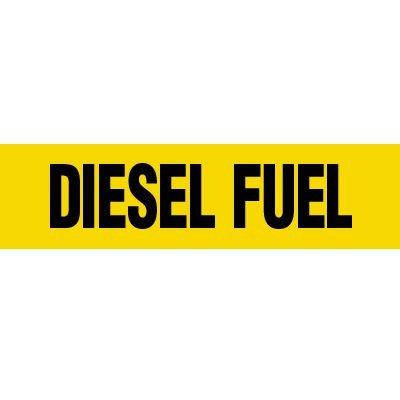 Diesel Fuel Pipe Markers