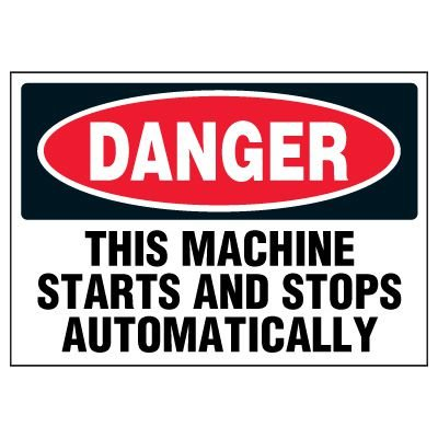 Automatic Machine Warning Markers