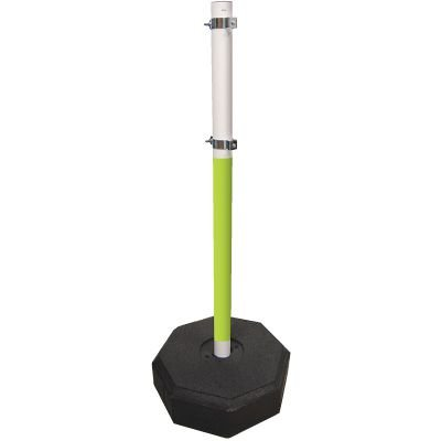 Fluorescent PVC Sign Stanchions