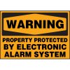 Warning Property Protected Label