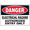 Danger Electrical Hazard - Voltage Warning Labels