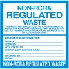 Non-RCRA Regulated Waste Labels