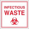 Infectious Waste Labels