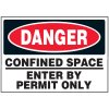 Confined Space Machine Danger Labels