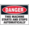 Automatic Machine Danger Labels