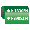 Nitrogen - Self-Adhesive Pipe Markers-On-A-Roll
