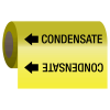 Condensate - Self-Adhesive Pipe Markers-On-A-Roll