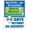 Setting The Standard Without Accident Scoreboard