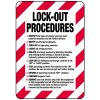 Lock-Out Signs - Lock-out Procedures