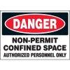 Non-Permit Confined Space Labels