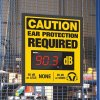 Decibel Meter Sign Kit - Ear Protection Required (Earmuffs)