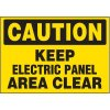 Voltage Warning Labels - Caution Keep Clear