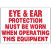 Eye & Ear Protection Warning Markers