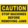 Stop Machines Warning Markers