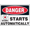Starts Automatically Warning Markers