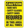 Protective Wear Signs - Caution Safety Equipment Required