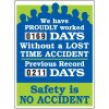 Safety Is No Accident Scoreboard