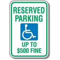 State-Specific Handicap Parking Signs - West Virginia