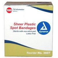 Sheer Spot Bandages  3607